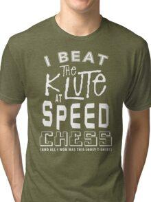 Blake's 7 -  The Klute  Tri-blend T-Shirt