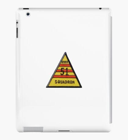 River Squadron 51 iPad Case/Skin