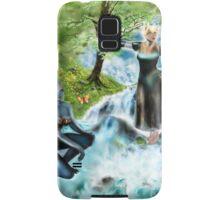 Spirits of the Water {Digital Fantasy Figure Illustration} Samsung Galaxy Case/Skin