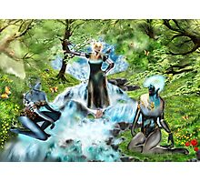Spirits of the Water {Digital Fantasy Figure Illustration} Photographic Print