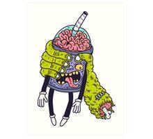 Brainshake Art Print