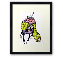 Brainshake Framed Print