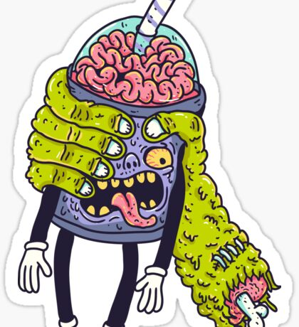 Brainshake Sticker