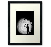 Shadow Lurkers Framed Print
