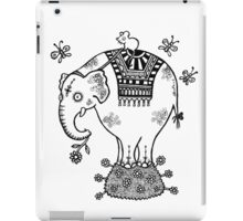 White Elephant T-Shirt iPad Case/Skin