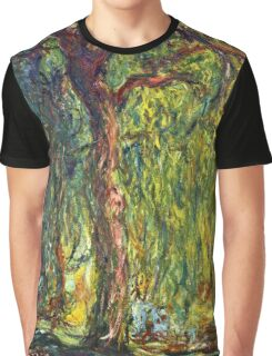 Claude Monet - Weeping Willow (1918–19)  Graphic T-Shirt