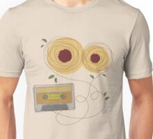 cassette and two plates Unisex T-Shirt