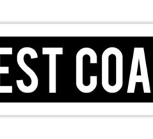 West Coast Sign Sticker