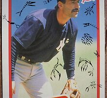 173 - Tom Brookens by Foob's Baseball Cards
