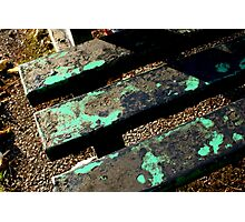 The Old Park Bench Photographic Print