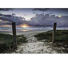 Welcome to Sunrise - Lennox Head Photographic Print