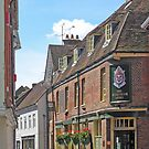 The Wykeham Arms, Kingsgate Street, Winchester, southern England by Philip Mitchell