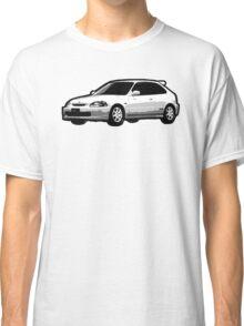 Awesome HONDA CIVIC TYPE R ek9 integra prelude VW JDM - Street Car sports hatchback art Graffiti Popart  warhol Classic T-Shirt