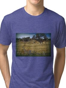 Boundary Fence Tri-blend T-Shirt