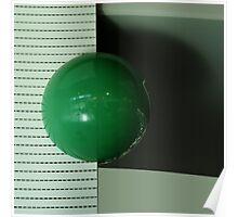 Green ball Poster