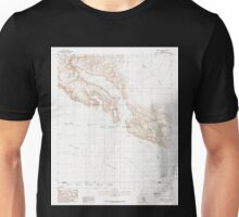 USGS TOPO Map Arizona AZ Midway SW 312359 1986 24000 Unisex T-Shirt