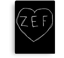 ZEF Canvas Print