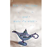 Make a wish! Photographic Print