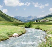 Switzerland valley Sticker