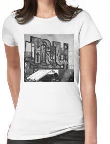 New York Crosswalk Arrows Womens Fitted T-Shirt