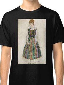 Egon Schiele - Portrait of Edith (the artists wife) (1915)  Classic T-Shirt