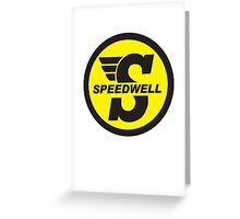 Speedwell mini Greeting Card