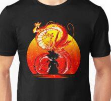 saiyan silhouette Unisex T-Shirt