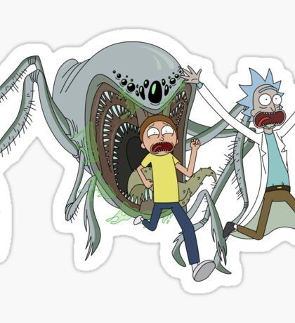 Run, Morty, Run! Ver.2 Sticker