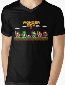 Wonder Boy Mens V-Neck T-Shirt