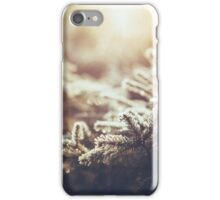 Hint of winter iPhone Case/Skin