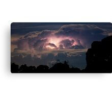 Storm Cell over Canberra Canvas Print