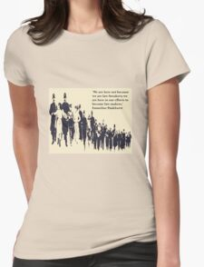 Suffragettes - Emmeline Pankhurst quote T-Shirt