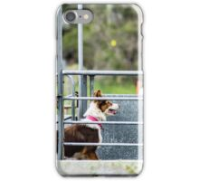 Eyes on the handler  iPhone Case/Skin