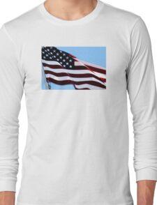 Dad's Flag Long Sleeve T-Shirt
