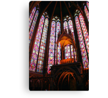 Awesome Saint Chapelle Canvas Print
