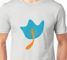 Blue leaves Unisex T-Shirt