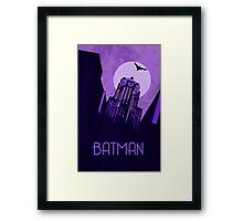 The Dark Knight - Gotham Framed Print