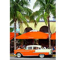 Welcome to Miami Photographic Print