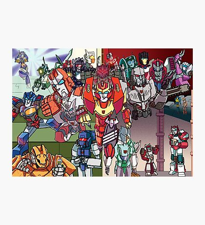 Mtmte Season 1-2 Photographic Print