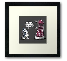 Are you my mummy? - Choose your color! Framed Print