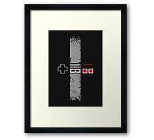 Nintendo Entertainment System Framed Print