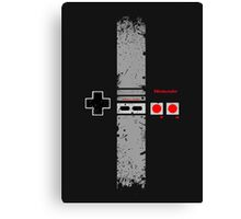 Nintendo Entertainment System Canvas Print