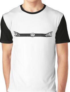 VW Golf MK6 Front Lights Graphic T-Shirt