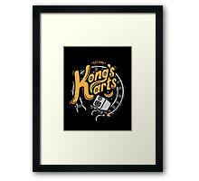 Kong's Karts Framed Print