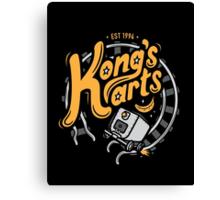 Kong's Karts Canvas Print
