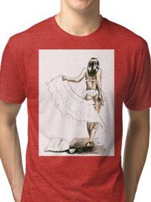 Midori Dusk - Swan Jovi Tri-blend T-Shirt
