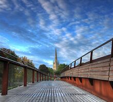 Morning comes to Norwich by Ursula Rodgers Photography