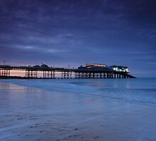 Cromer Pier Evening Blues by Ursula Rodgers Photography