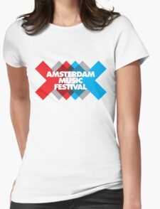 Amsterdam Music Festival - AMF Womens Fitted T-Shirt