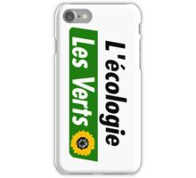 Europe Ecology, The Greens (Europe écologie – Les Verts EELV) iPhone Case/Skin